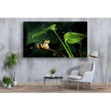 Tablou Canvas Animale Craiova -  Broasca de apa- Persona Design