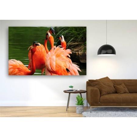 Tablou Canvas Animale Craiova -  Flamingo- Persona Design
