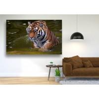 Tablou Canvas Animale Craiova -  Tigrul apelor- Persona Design