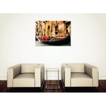 Tablou canvas Barca venetiana - Persona Design