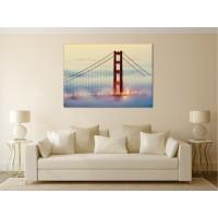 Tablou canvas Podul din ceata - Persona Design