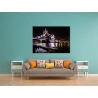Tablou canvas Podul Londrei noaptea - Persona Design