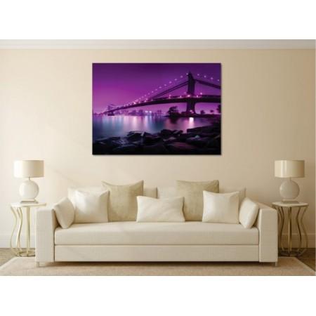 Tablou canvas Podul purpuriu - Persona Design