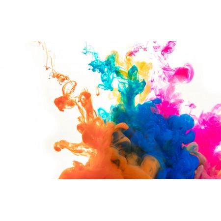 Fototapet Abstract Personalizat - Fum Colorat