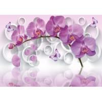 Fototapet 3D Personalizat - Orhideea  - Persona Design
