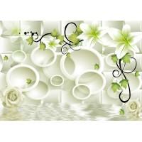 Fototapet 3D Personalizat - Alb Verzui  - Persona Design