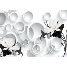 Fototapet 3D Personalizat - Alb Negru  - Persona Design