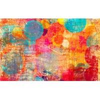 Fototapet Abstract Personalizat - Culori pictate