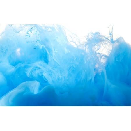 Fototapet Abstract Personalizat - Fum Albastru