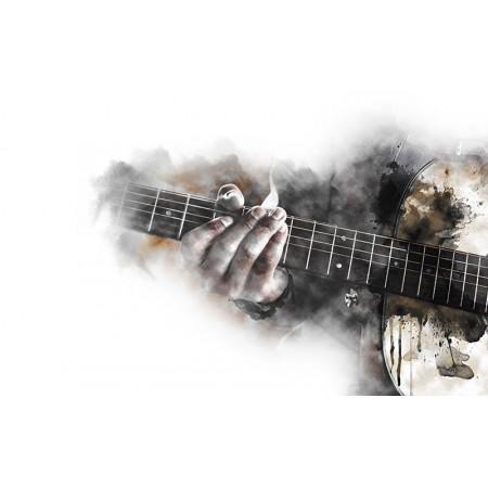 Fototapet Abstract Personalizat - Chitara