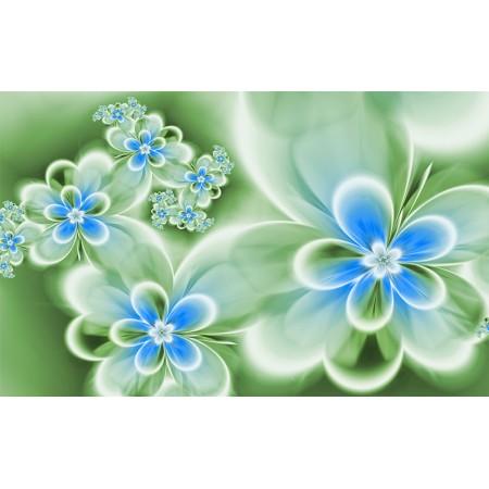 Fototapet Abstract Personalizat - Flori