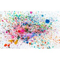 Fototapet Abstract Personalizat - Culori