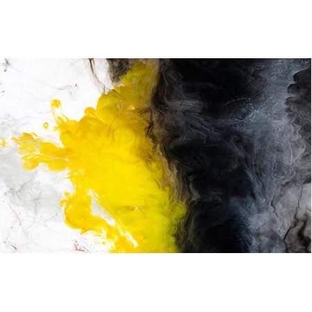 Fototapet Abstract Personalizat - Galben