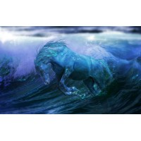 Fototapet Abstract Personalizat - Calul