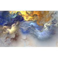 Fototapet Abstract Personalizat - Albastru - Persona Design
