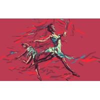 Fototapet Abstract Personalizat - Balerina - Persona Design