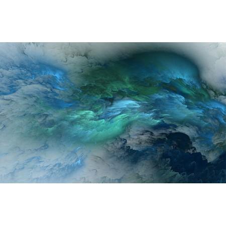 Fototapet Abstract Personalizat - Blue - Persona Design