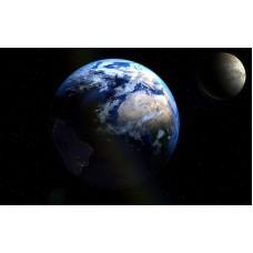 Fototapet Astronomie Personalizat - Glob Pamantesc