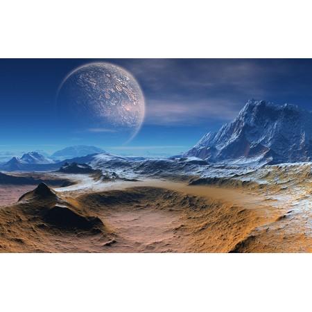 Fototapet Astronomie Personalizat - Luna