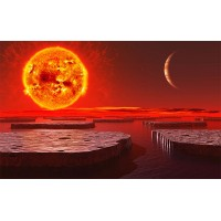 Fototapet Astronomie Personalizat - Marte