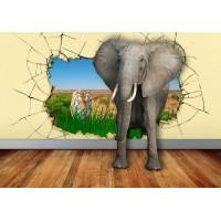 Fototapet Copii Personalizat - Elefantul - Persona Design