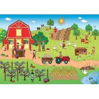 Fototapet Copii Personalizat - Ferma - Persona Design