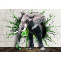 Fototapet Copii Personalizat - Elefantul Mare - Persona Design