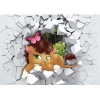 Fototapet Copii Personalizat - Pisicuta - Persona Design