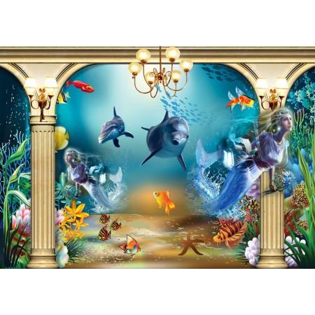 Fototapet Copii Personalizat - Sirena - Persona Design