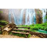 Fototapet Natura Personalizat - Relax la Cascada
