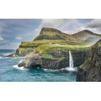 Fototapet Natura Personalizat - Cascada in Insula