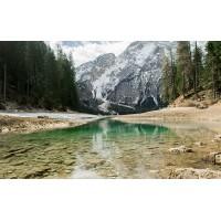 Fototapet Natura Personalizat - Rau la Munte