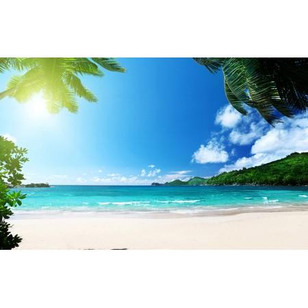 Fototapet Natura Personalizat - Pe Plaja