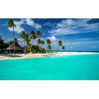 Fototapet Natura Personalizat - Casuta pe Plaja