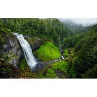 Fototapet Natura Personalizat - Cascada din Padure