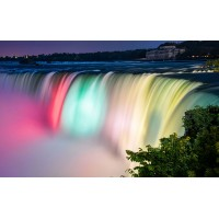 Fototapet Natura Personalizat - Cascada Color
