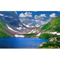 Fototapet Natura Personalizat - Lacul din Munte