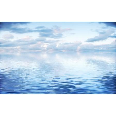 Fototapet Natura Personalizat - Mare Albastra