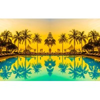 Fototapet Natura Personalizat - Tropical