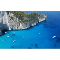 Fototapet Natura Personalizat - Barci in Ocean