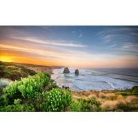 Fototapet Natura Personalizat - Apus la Ocean