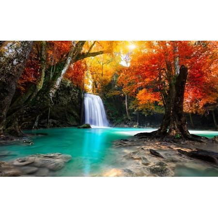 Fototapet Natura Personalizat - O Cascada