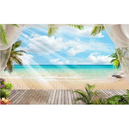 Fototapet Natura Personalizat - Relax la Plaja