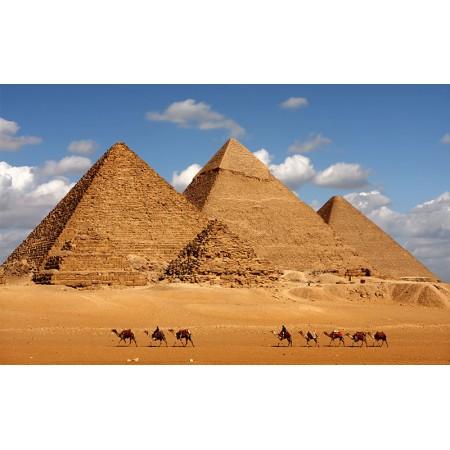Fototapet Orase Personalizat - Piramide din Giza