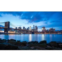 Fototapet Orase Personalizat - Pod New York