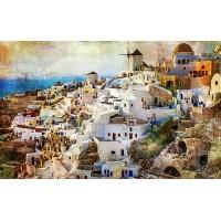 Fototapet Orase Personalizat - Santorini