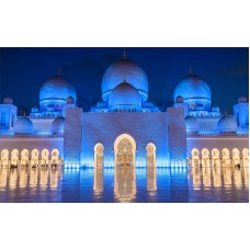 Fototapet Orase Personalizat - Abu Dhabi