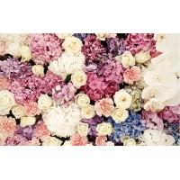 Fototapet Texturi Personalizat - Trandafiri