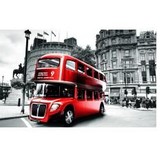 Fototapet Vintage Personalizat - Autobuz