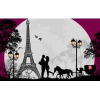 Fototapet Vintage Personalizat - Paris